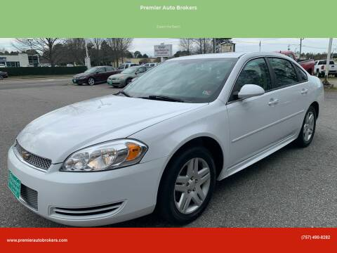 2014 Chevrolet Impala Limited for sale at Premier Auto Brokers in Virginia Beach VA