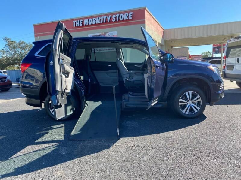 2018 Honda Pilot for sale at The Mobility Van Store in Lakeland FL
