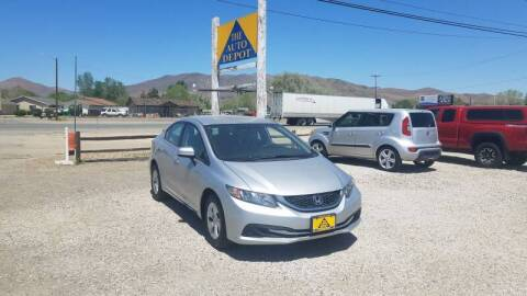 2014 Honda Civic for sale at Auto Depot in Carson City NV