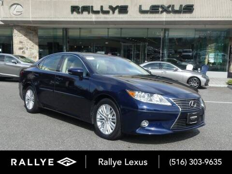 2015 Lexus ES 350 for sale at RALLYE LEXUS in Glen Cove NY
