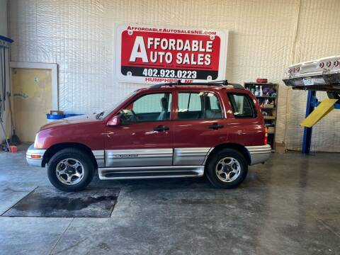 2001 Chevrolet Tracker for sale at Affordable Auto Sales in Humphrey NE