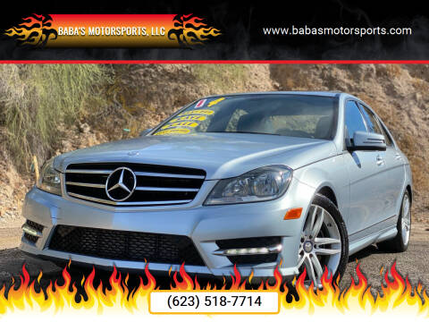 2014 Mercedes-Benz C-Class for sale at Baba's Motorsports, LLC in Phoenix AZ