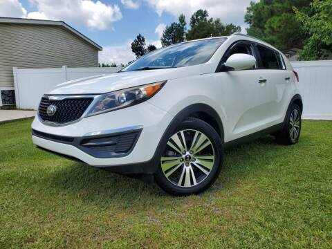 2016 Kia Sportage for sale at Real Deals of Florence, LLC in Effingham SC