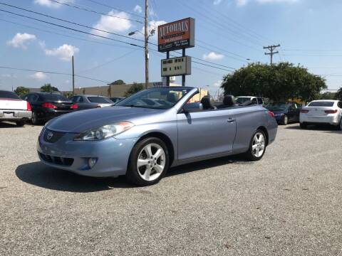 2006 Toyota Camry Solara for sale at Autohaus of Greensboro in Greensboro NC