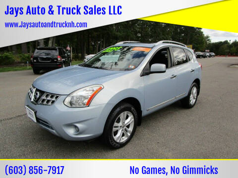 2013 Nissan Rogue for sale at Jays Auto & Truck Sales LLC in Loudon NH
