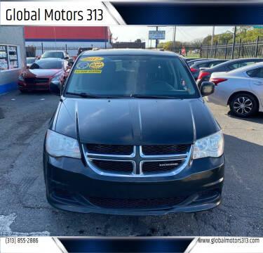 2012 Dodge Grand Caravan for sale at Global Motors 313 in Detroit MI