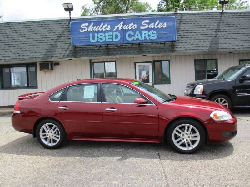2011 Chevrolet Impala for sale at SHULTS AUTO SALES INC. in Crystal Lake IL
