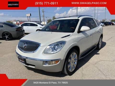 2012 Buick Enclave for sale at SOUTHWEST AUTO GROUP-EL PASO in El Paso TX