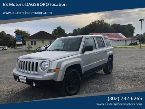 2011 Jeep Patriot for sale at ES Motors-DAGSBORO location in Dagsboro DE
