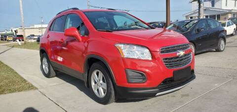 2015 Chevrolet Trax for sale at Wyss Auto in Oak Creek WI