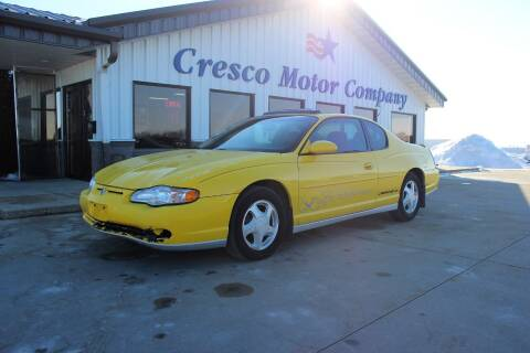 2003 Chevrolet Monte Carlo for sale at Cresco Motor Company in Cresco IA