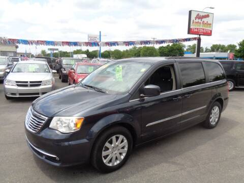 2014 Chrysler Town and Country for sale at Aspen Auto Sales in Wayne MI