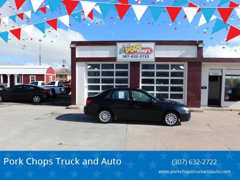 2010 Subaru Impreza for sale at Pork Chops Truck and Auto in Cheyenne WY