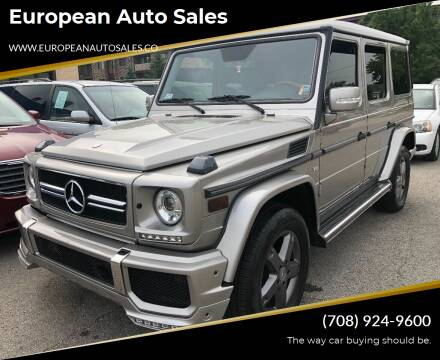 2006 Mercedes-Benz G-Class for sale at European Auto Sales in Bridgeview IL