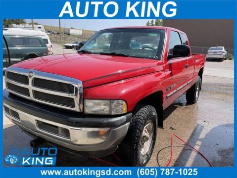2001 Dodge Ram Pickup 1500 for sale at Auto King in Rapid City SD
