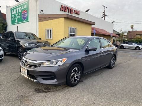 2017 Honda Accord for sale at Auto Ave in Los Angeles CA