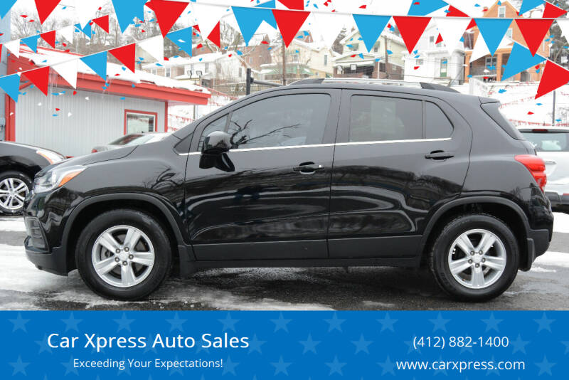 2018 Chevrolet Trax for sale at Car Xpress Auto Sales in Pittsburgh PA