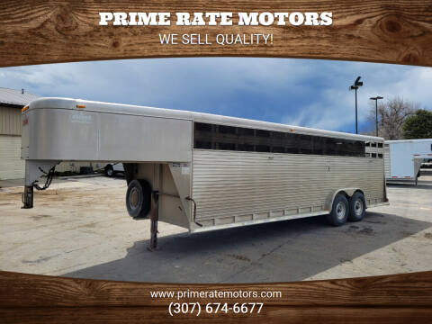 1997 Sooner 24' Goose Neck Stock Combo for sale at PRIME RATE MOTORS in Sheridan WY