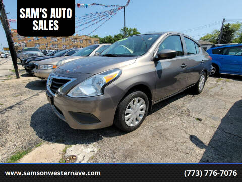 2016 Nissan Versa for sale at SAM'S AUTO SALES in Chicago IL