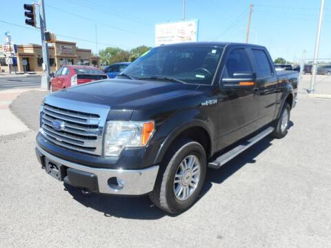 2014 Ford F-150 for sale at AUGE'S SALES AND SERVICE in Belen NM