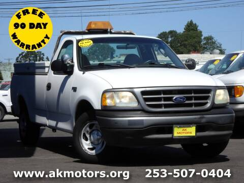 2002 Ford F-150 for sale at AK Motors in Tacoma WA