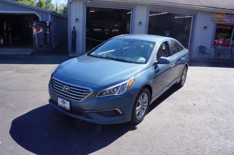 2016 Hyundai Sonata for sale at Autos By Joseph Inc in Highland NY