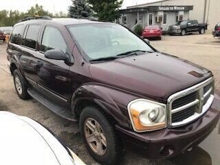 2004 Dodge Durango for sale at WELLER BUDGET LOT in Grand Rapids MI