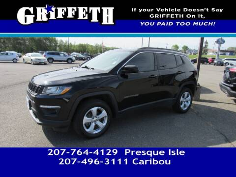 2018 Jeep Compass for sale at Griffeth Mitsubishi - Pre-owned in Caribou ME