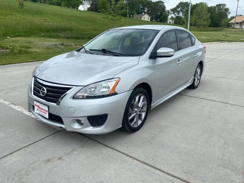2015 Nissan Sentra for sale at BIG O MOTORS LLC in Omaha NE