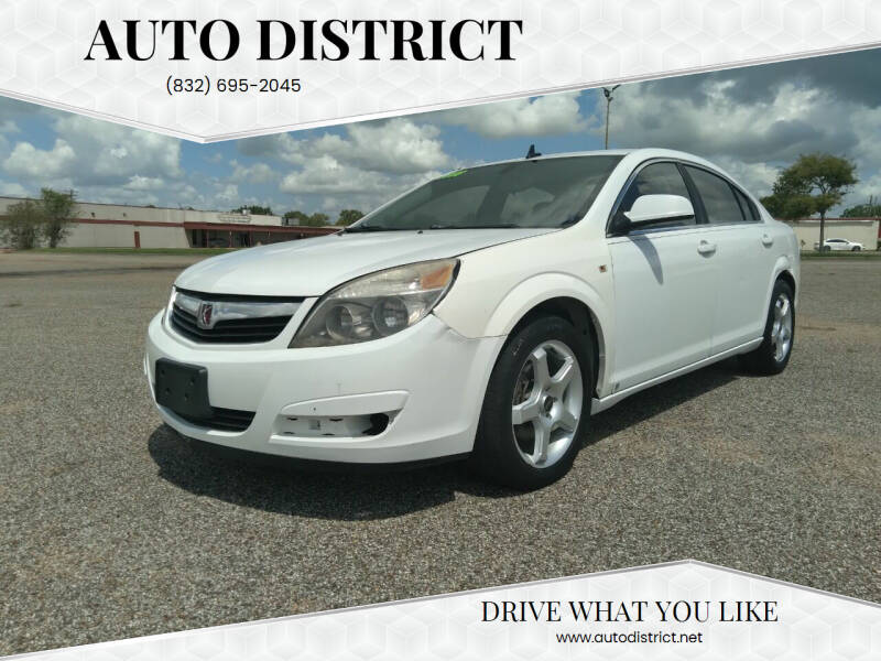 2009 Saturn Aura for sale at Auto District in Baytown TX