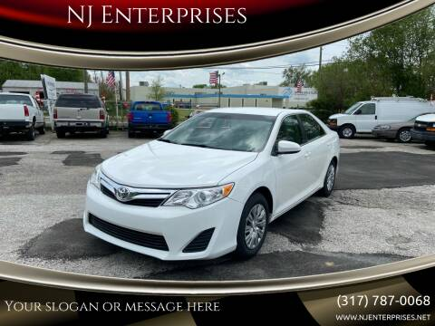 2013 Toyota Camry for sale at NJ Enterprises in Indianapolis IN