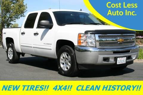 2012 Chevrolet Silverado 1500 for sale at Cost Less Auto Inc. in Rocklin CA