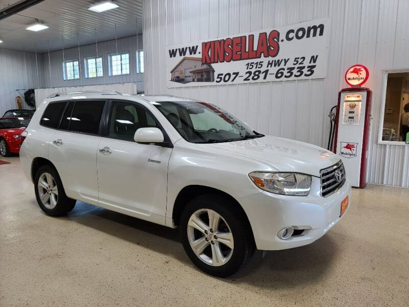 2008 Toyota Highlander for sale at Kinsellas Auto Sales in Rochester MN