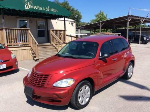 2005 Chrysler PT Cruiser for sale at OASIS PARK & SELL in Spring TX