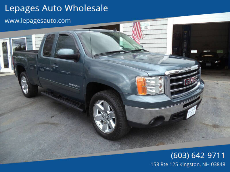 2012 GMC Sierra 1500 for sale at Lepages Auto Wholesale in Kingston NH