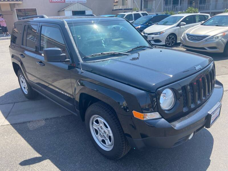 2015 Jeep Patriot for sale at Boulevard Motors in Saint George UT