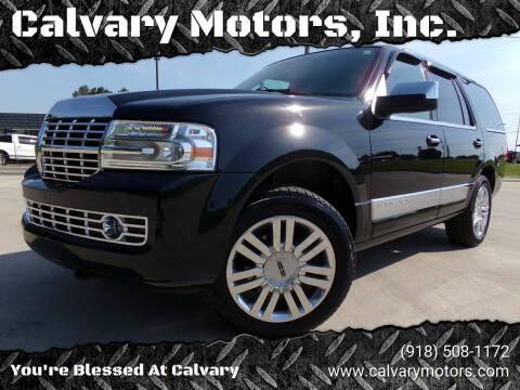 2014 Lincoln Navigator for sale at Calvary Motors, Inc. in Bixby OK