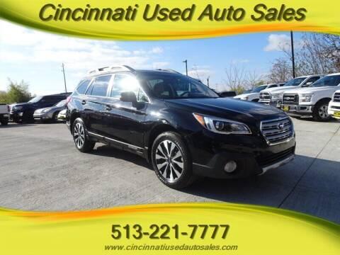 2016 Subaru Outback for sale at Cincinnati Used Auto Sales in Cincinnati OH