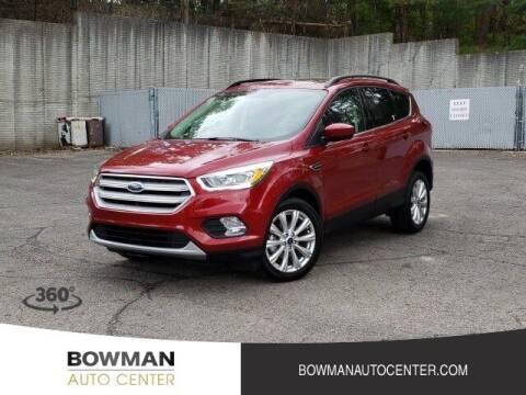 2019 Ford Escape for sale at Bowman Auto Center in Clarkston MI