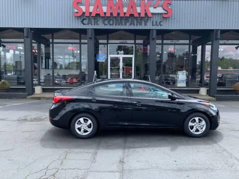 2014 Hyundai Elantra for sale at Siamak's Car Company llc in Salem OR
