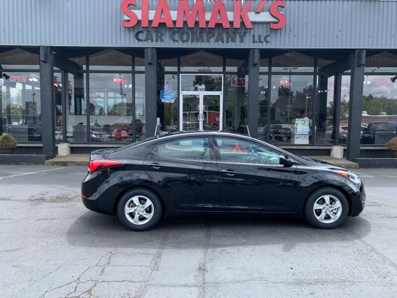 2014 Hyundai Elantra for sale at Siamak's Car Company llc in Salem OR