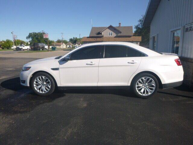 2019 Ford Taurus for sale at JIM WOESTE AUTO SALES & SVC in Long Prairie MN