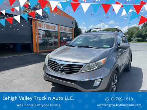 2011 Kia Sportage for sale at Lehigh Valley Truck n Auto LLC. in Schnecksville PA