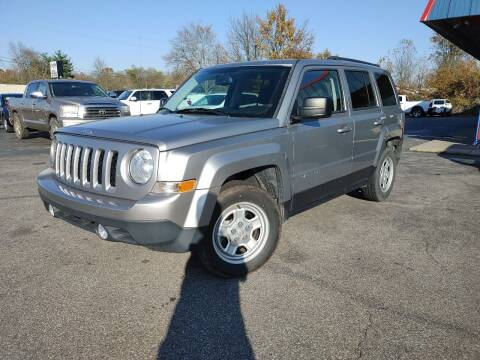 2016 Jeep Patriot for sale at Cruisin' Auto Sales in Madison IN