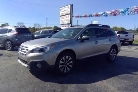 2015 Subaru Outback for sale at Premier Auto Sales Inc. in Big Rapids MI