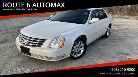 2011 Cadillac DTS for sale at ROUTE 6 AUTOMAX in Markham IL
