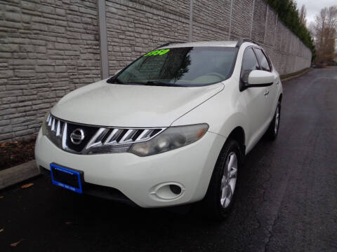 2009 Nissan Murano for sale at Matthews Motors LLC in Algona WA