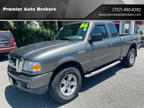 2006 Ford Ranger for sale at Premier Auto Brokers in Virginia Beach VA
