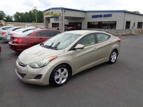 2013 Hyundai Elantra for sale at KARS R US of Spartanburg LLC in Spartanburg SC