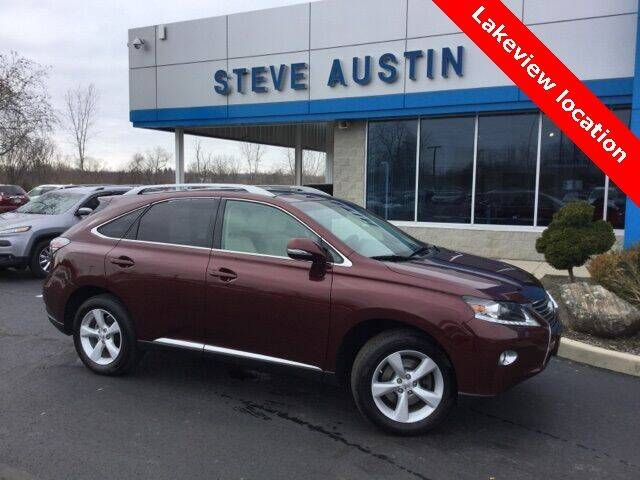 2013 Lexus RX 350 for sale at Austins At The Lake in Lakeview OH